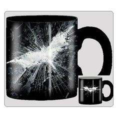 My morning cup of coffee never looked so awesome! Batman Dark Knight Rises Large Ceramic Mug