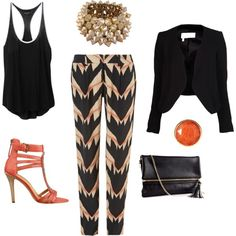 """""""Going Out Outfit"""" by ronnieperrett on Polyvore"""