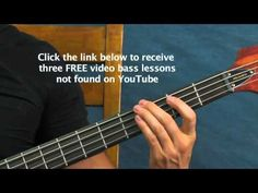 beginner bass guitar lesson you shook me all night long ACDC AC/DC AC DC