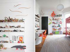 Wow! Jordan Ferney's boys' room, via Oh Happy Day