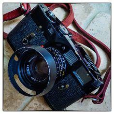 Leica M2 Black paint and Wetzlar Summicron 35mm version IV