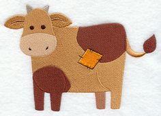 Primitive Patchwork Cow