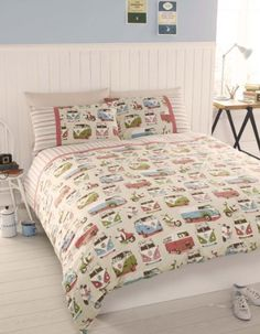 Camper Vans Double Duvet Cover Set , Double Bed by Camper Vans, http://www.amazon.co.uk/dp/B00BS8S44W/ref=cm_sw_r_pi_dp_VDrhsb1PK5K5H