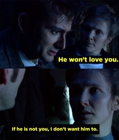 "When John Smith decided to ""die"" and open the watch, even after he knew what his future with Joan would be like. 