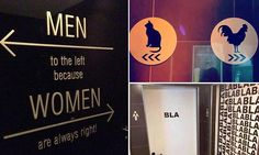 GENDER SPECIFIC: The best bathroom signs from around the world