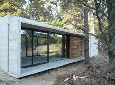 Resultado de imagen para casas construccion hormigon y vidrio