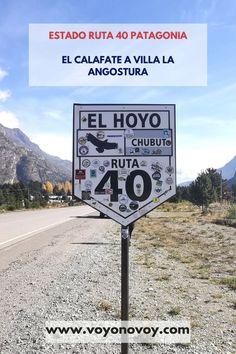 Este viaje es muy lindo, sin embargo debes saber el estado de la ruta 40 Patagonia para hacer una buena planificación de tu viaje para disfrutarlo completamente.  En este post te indico un detalle del estado de la ruta 40 entre las localidades de El Calafate, provincia de Santa Cruz, hasta Villa La Angostura provincia de Neuquen   #ruta40 #patagoniaargentina