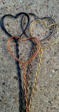 Wire Crafts, Craft Stick Crafts, Crafts To Make, Cement Art, Cement Crafts, Wire Jewelry, Jewelry Art, Copper Wire Art, Beads And Wire