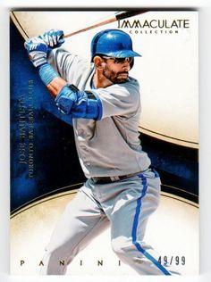 MLB 2014 Panini Immaculate #42 Jose Bautista /99 MNT #LosAngelesDodgers