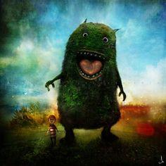 My friend Lester Tongue Heart by ~AlexanderJansson on deviantART