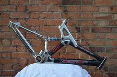 1999 GT STS XCR 1000 suspension frame retro mountain bike