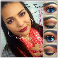 Too Faced Chocolate Bar Smokey Eye Tutorial