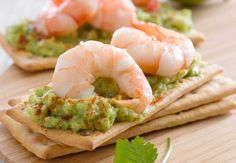 Guacamole aux crevettesDécouvrez la recette du guacamole aux crevettes.