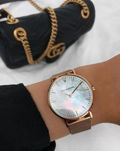 """Gefällt 1,712 Mal, 29 Kommentare - PAUL VALENTINE (@paulvalentinee) auf Instagram: """"The Rose Gold Seashell Mesh. Understated luxury at it's best. ✨ Link in bio babes ☝…"""""""