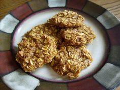 Clean Eating Oatmeal Almond Pumpkin Cookies