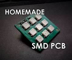 30 best pcb images in 2019 electrical engineering, electronicsmaking smd pcbs at home (photoresist method) circuit boardarduinocircuits