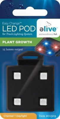 AQUATICS - BULBS: LED - LED MODULAR POD - PLANT GROWTH - ELIVE, LLC - UPC: 81997013099 - DEPT: AQUATIC PRODUCTS