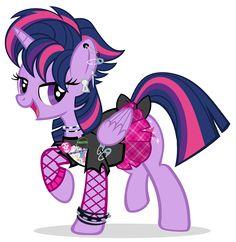 #874607 - alternate hairstyle, artist:pixelkitties, castle sweet castle, clothes, misfits, no chola, open mouth, piercing, princess celestia, princess twilight, punk, punklight sparkle, raised hoof, safe, sex pistols, shirt, simple background, skirt, solo, spoiler:s05e03, transparent background, twilight punkle, twilight sparkle, upvotes galore, vector - Derpibooru - My Little Pony: Friendship is Magic Imageboard