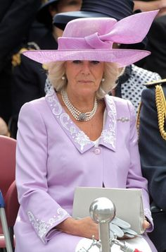 Battle of Britain Commemoration Service: HRH The Duchess of Cornwall (19 Sep 2010)
