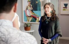 The Lean Back by Teil Duncan as seen on the set of Grace and Frankie
