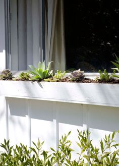 The best, low-maintenance plants for an easy and care-free window box planter via @thouswellblog