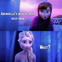 Way to drop an ice bomb on her, Anna; Disney Princess Movies, Best Disney Movies, Good Movies, Disney Nerd, Disney Diy, Disney Frozen, Frozen Images, Frozen Pictures, Animation Film