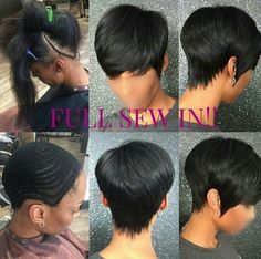 Check Out Our , Hairstyles Quick Weave Long Hairstyles Super Quick Weave, Sew In Weave Hairstyles, 19 Short Sew In Hairstyles Best Hairstyles. Short Sew In Hairstyles, Bump Hairstyles, Black Hairstyles, Hairstyles Pictures, Hairstyles 2018, Braided Hairstyles, School Hairstyles, African Hairstyles, Formal Hairstyles