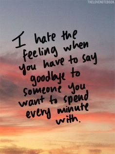 quotes about love and saying goodbye - Google Search