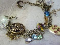 vintage buttons and brass!