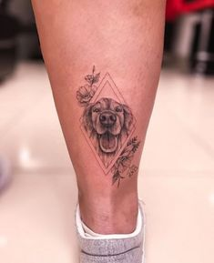 Trendy Ideas for tattoo dog memorial small - Tattoo Body Art Tattoos, New Tattoos, Cool Tattoos, Tatoos, Tattoos Skull, Small Dog Tattoos, Tattoos Of Dogs, Tattoo For Dog, Dog Portrait Tattoo