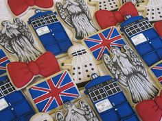 Doctor Who Sugar Cookie Collection by MartaIngros on Etsy, $27.00
