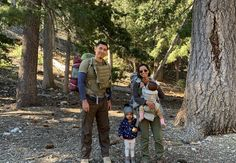 """Last ⁣weekend family backpacking trip was a success! I'm beyond blessed to have a family that enjoys the outdoors as much as I do!"" -Erick 35 Pounds, Molle System, Backpacking, Black And Grey, Blessed, Dads, Success, Action, Outdoors"