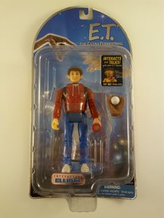 NEW! E.T. The Extra-Terrestrial - Interactive Elliott - 2001 Exclusive FREE SHIP #PacificPlaythings