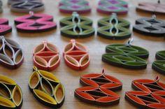 Mod Eye Earrings Tutorial - 4 Designs