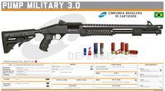 "Companhia Brasileira de Cartuchos ""CBC"" - Pump Military 3.0 Shotguns, Firearms, Military Brat, Tactical Shotgun, Hand To Hand Combat, Custom Guns, Futuristic Art, Shooting Range, Weapon Concept Art"