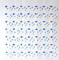 Robyn Graham, '10.46 PARIS', 2016, Oil Pastel on Paper, 50cm x 50cm