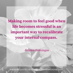"""Making room to feel"