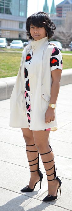 Spring 2015 - Spring Outfit Idea - Leopard Dress