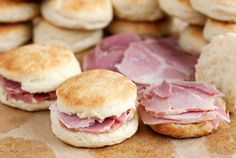 Pin for Later: Taste the States: 50 Iconic American Foods Virginia: Ham Biscuits