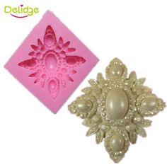 1 stück Perle Blume Form Silikon Backform 3D Schöne Diamant Muffin Süßwaren Form…