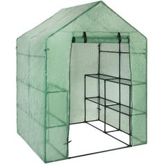 Free Shipping. Buy Best Choice Products Outdoor Portable Garden 2-Tier 8 Shelves Mini Walk-In Greenhouse at Walmart.com