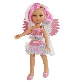 Poupée Paolareina ange rose www.poupee-paolareina.com - La boutique des poupées Paola Reina #dolls #poupées