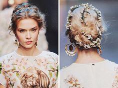 {fashion inspiration | runway : dolce & gabbana spring-summer 2014, milan}