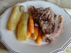 Slow Cooked Pot Roast ~ I think this is the new family favorite for pot roast!!  Very good!