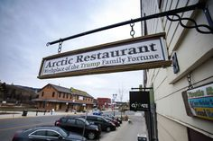 The roots of the family fortune that paved Donald Trump's path to prominence.  Arctic Restaurant