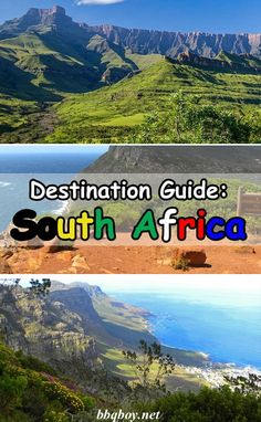 The BIGGEST Free guide on South Africa you'll find on the internet. This guide covers all of South Africa's highlights, region by region, with tons of information on every aspect of South African travel #bbqboy #SouthAfrica #guide #travel