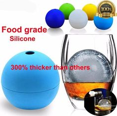 Whiskey round ice ball mold 6cm