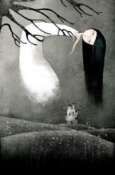 anne-julie aubry's digital prints and paintings