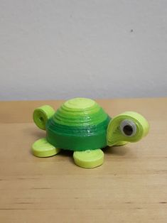 Quilling tortue 3d