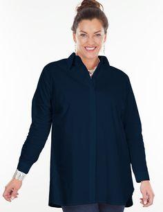 Henley navy shirt